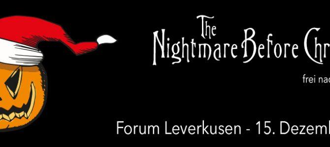 "Wiederholung der Aufführung ""The Nightmare Before Christmas"""